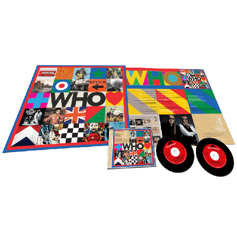 √WHO (Deluxe 2CD with Live At Kingston) von The Who - 2CD jetzt im The Who Shop