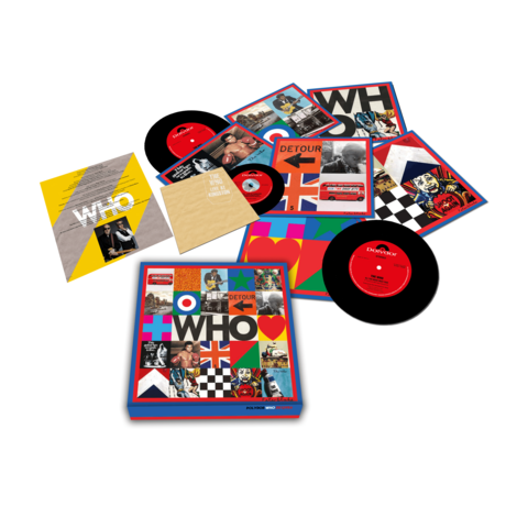 WHO (7'' Boxset with Live At Kingston) von The Who - LP Box jetzt im The Who Shop