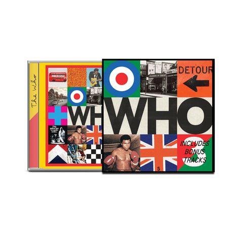 Who (Deluxe CD) von The Who - Deluxe CD jetzt im The Who Shop