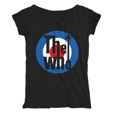 √Target Logo von The Who - Loose Fit Girlie Shirt jetzt im The Who Shop