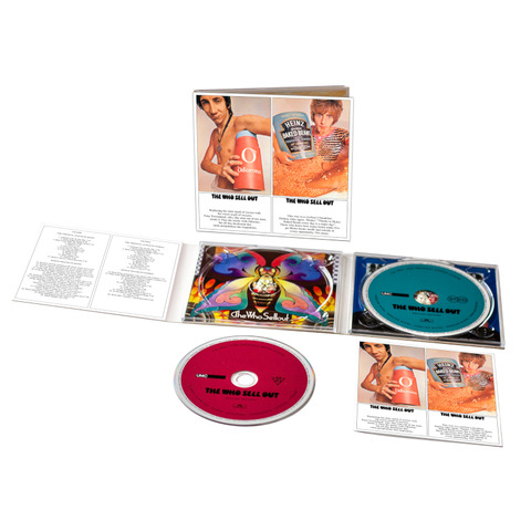 √The Who Sell Out (2CD Digipack) von The Who - 2CD jetzt im The Who Shop
