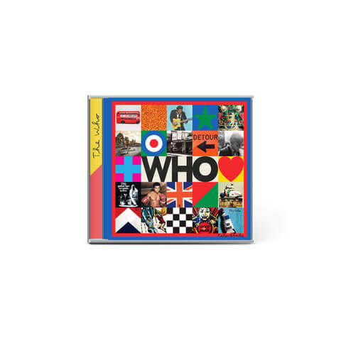 √Who von The Who - CD jetzt im The Who Shop
